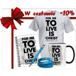 "Zestaw ""For me to live is Christ"""