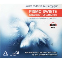 Pismo Święte - NT, Audiobook MP3