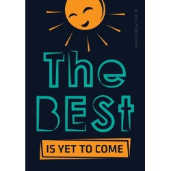 "Magnes AF ""The Best Is Yet To Come"" (czarny)"