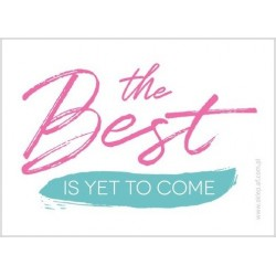 "Magnes AF ""The Best Is Yet To Come"" (biały)"