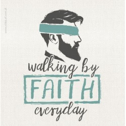 "Podstawka korkowa AF ""WALKING BY FAITH EVERYDAY (M"
