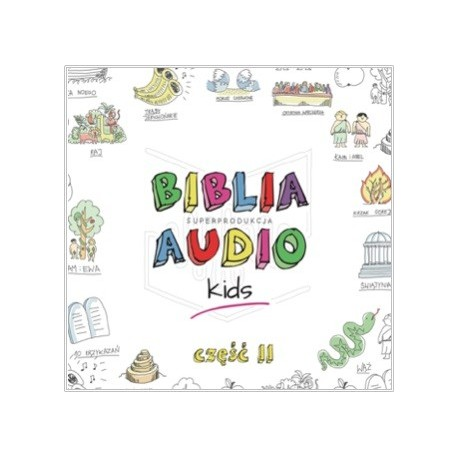 Biblia Audio KIDS - część II - CD