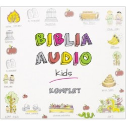 Biblia Audio KIDS - pakiet 3 CD