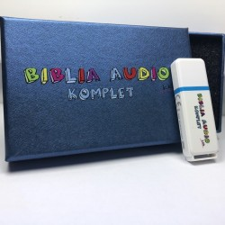 Biblia Audio KIDS - Komplet Pendrive
