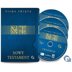 Nowy Testament Audio 3 płyty CD MP3 (R)